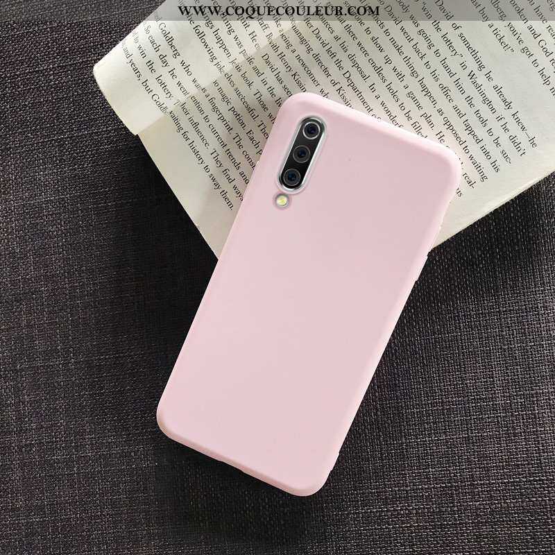 Coque Samsung Galaxy A70s Silicone Simple Incassable, Housse Samsung Galaxy A70s Protection Étui Ros