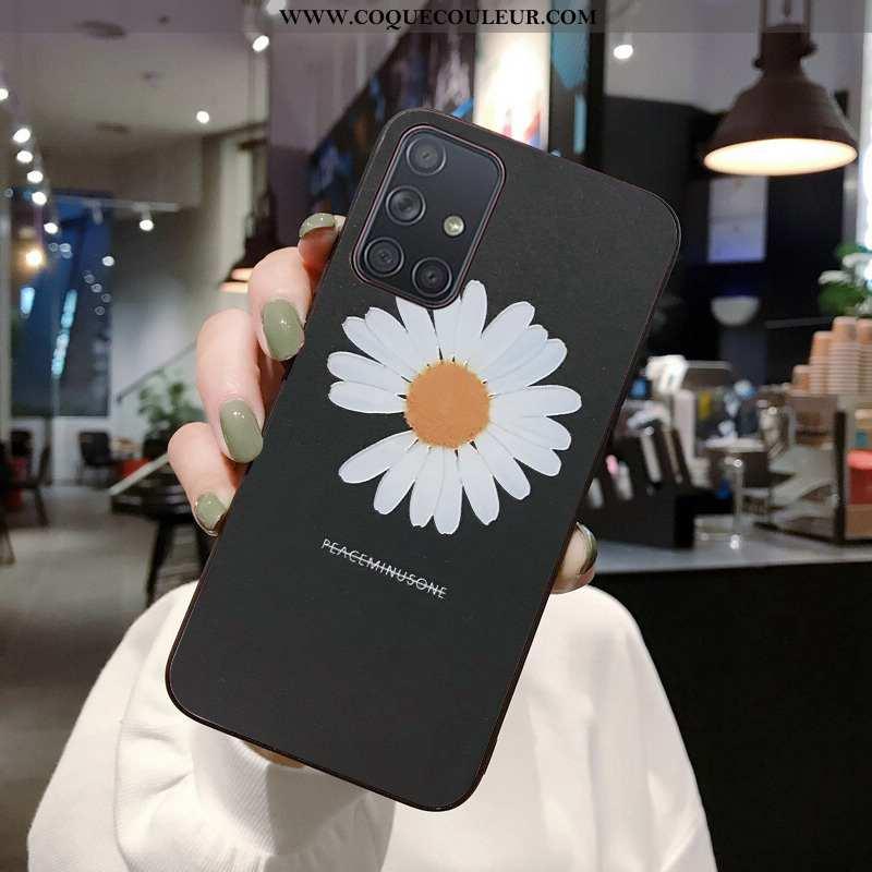 Housse Samsung Galaxy A71 Gaufrage 2020 Protection, Étui Samsung Galaxy A71 Dessin Animé Net Rouge N