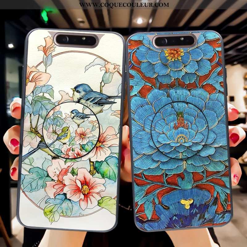 Étui Samsung Galaxy A80 Silicone Téléphone Portable Tout Compris, Coque Samsung Galaxy A80 Mode Flui