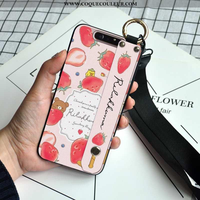 Coque Samsung Galaxy A80 Protection Fruit Étoile, Housse Samsung Galaxy A80 Ornements Suspendus Étui