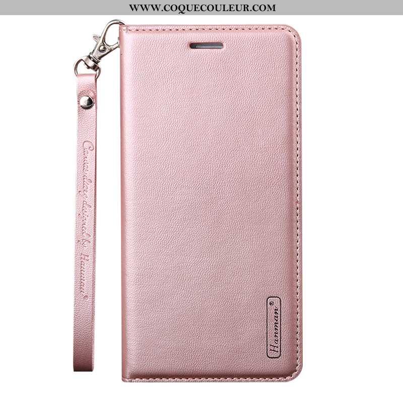 Housse Samsung Galaxy A80 Mode Téléphone Portable, Étui Samsung Galaxy A80 Cuir Véritable Rose