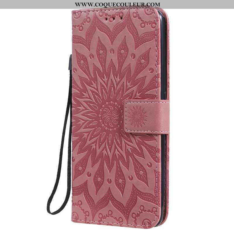 Housse Samsung Galaxy A80 Protection Téléphone Portable Étui, Étui Samsung Galaxy A80 Cuir Coque Ros