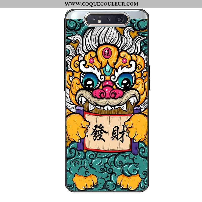 Coque Samsung Galaxy A80 Protection Style Chinois Tout Compris, Housse Samsung Galaxy A80 Délavé En