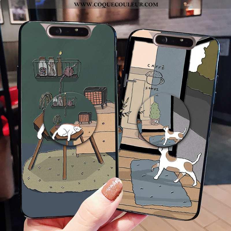Housse Samsung Galaxy A80 Silicone Coque Personnalité, Étui Samsung Galaxy A80 Protection Fluide Dou