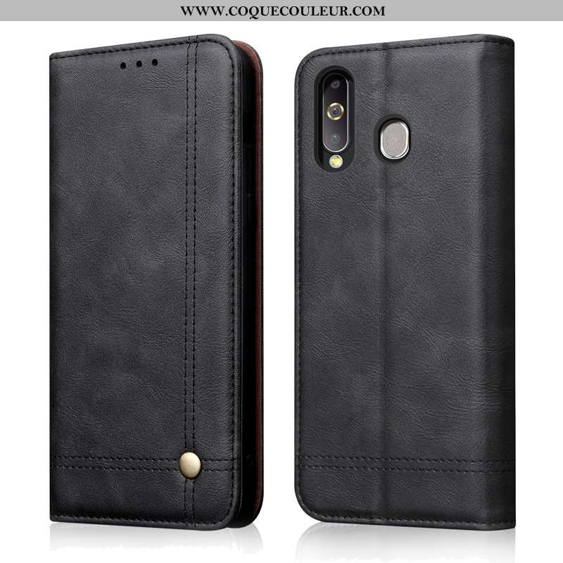 Housse Samsung Galaxy A8s Cuir Véritable Tout Compris Étoile, Étui Samsung Galaxy A8s Cuir Téléphone
