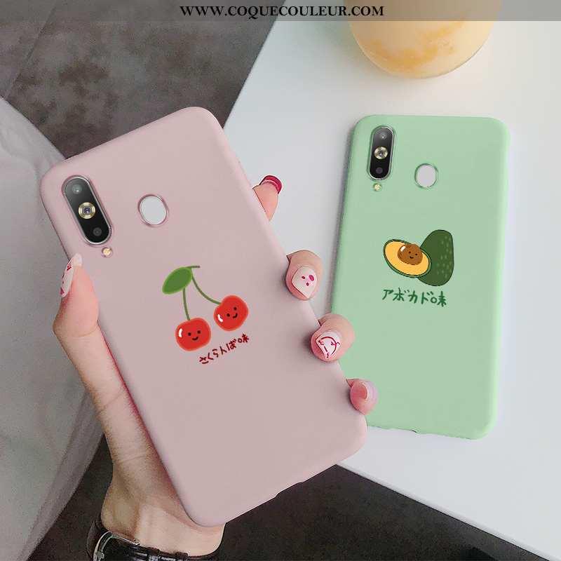 Étui Samsung Galaxy A8s Délavé En Daim Tout Compris Coque, Coque Samsung Galaxy A8s Fluide Doux Bovi