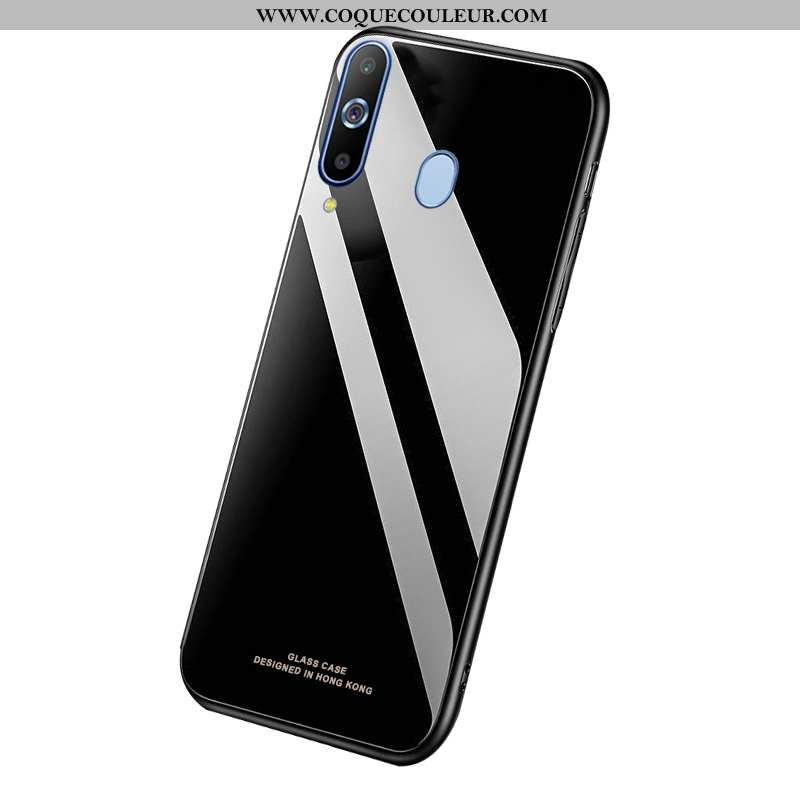 Housse Samsung Galaxy A8s Personnalité Téléphone Portable Noir, Étui Samsung Galaxy A8s Légère Légèr