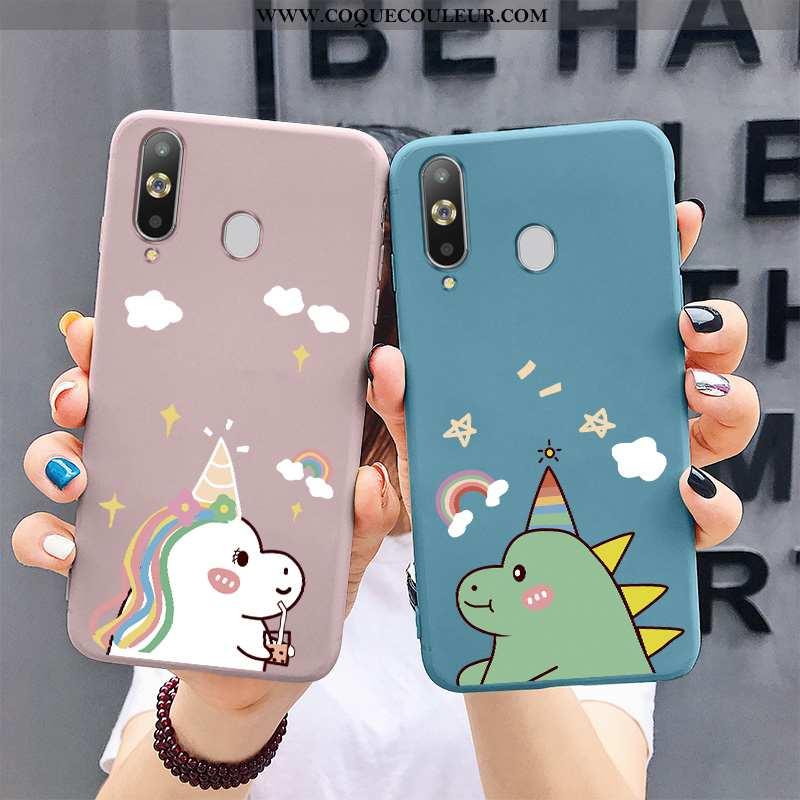 Coque Samsung Galaxy A8s Fluide Doux Arc En Ciel Dessin Animé, Housse Samsung Galaxy A8s Silicone Bl
