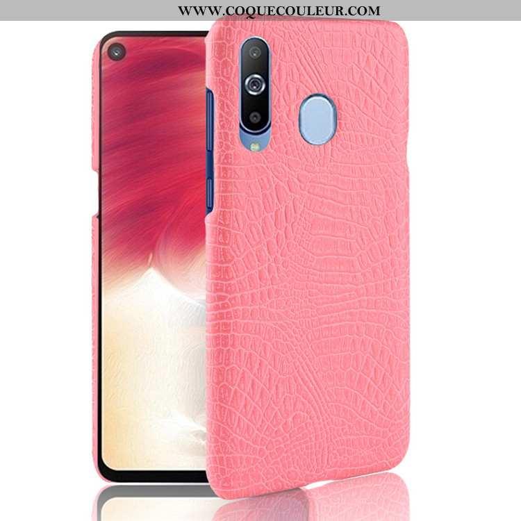Étui Samsung Galaxy A8s Modèle Fleurie Crocodile Étoile, Coque Samsung Galaxy A8s Téléphone Portable