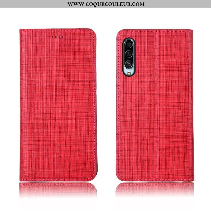 Étui Samsung Galaxy A90 5g Cuir Silicone Coque, Coque Samsung Galaxy A90 5g Fluide Doux Incassable R