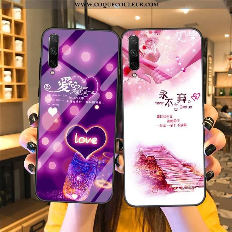 Coque Samsung Galaxy A90 5g Fluide Doux Verre Protection, Housse Samsung Galaxy A90 5g Silicone Temp