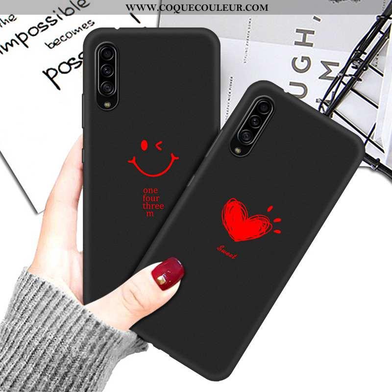 Housse Samsung Galaxy A90 5g Silicone Noir Téléphone Portable, Étui Samsung Galaxy A90 5g Protection