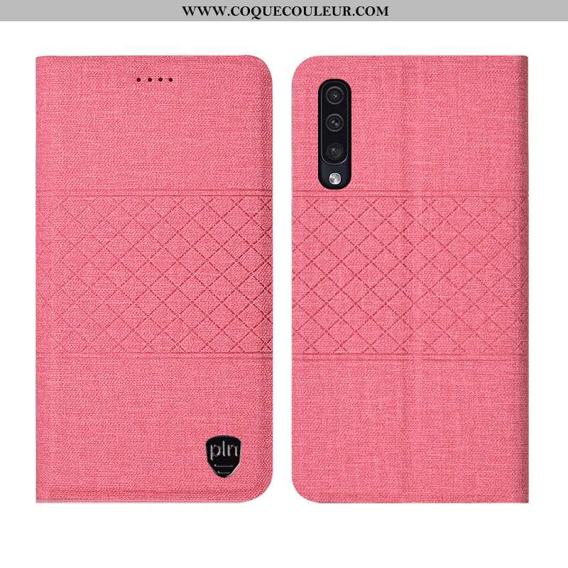 Housse Samsung Galaxy A90 5g Protection Téléphone Portable Rose, Étui Samsung Galaxy A90 5g Cuir Coq