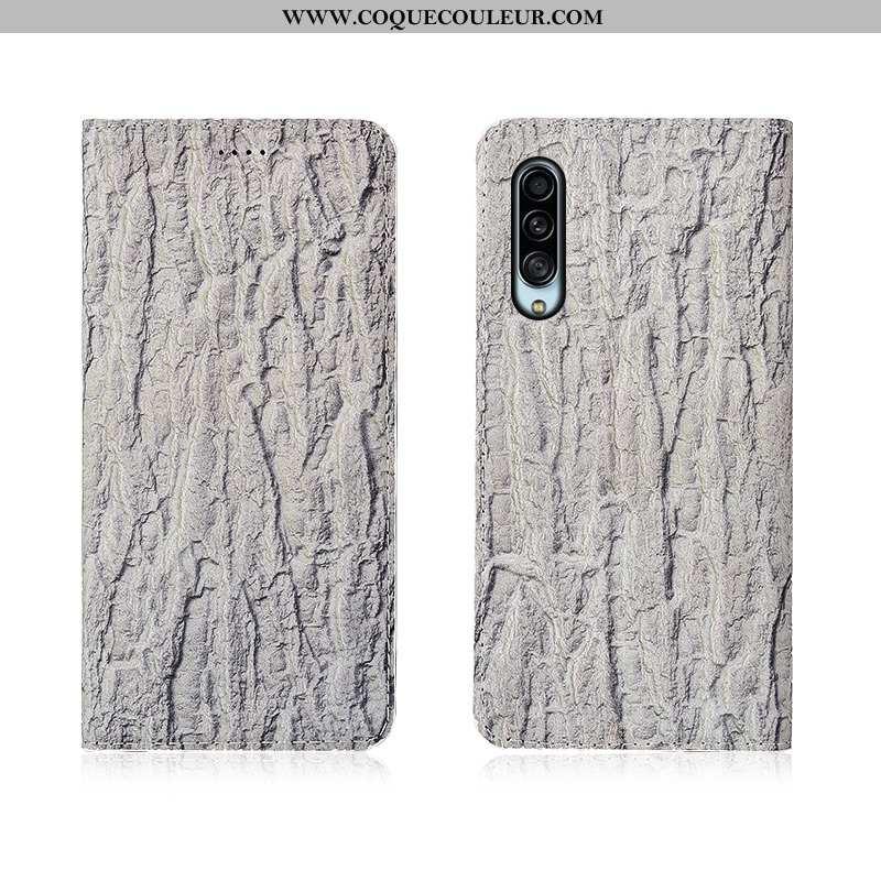 Coque Samsung Galaxy A90 5g Protection Nouveau, Housse Samsung Galaxy A90 5g Délavé En Daim Clamshel