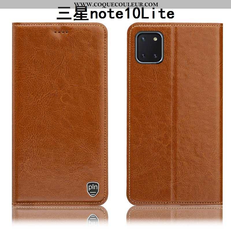 Étui Samsung Galaxy Note 10 Lite Modèle Fleurie Incassable Téléphone Portable, Coque Samsung Galaxy