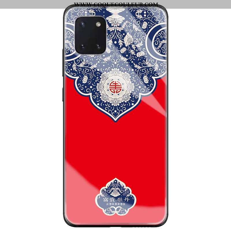 Coque Samsung Galaxy Note 10 Lite Protection Jeunesse Rouge, Housse Samsung Galaxy Note 10 Lite Tend