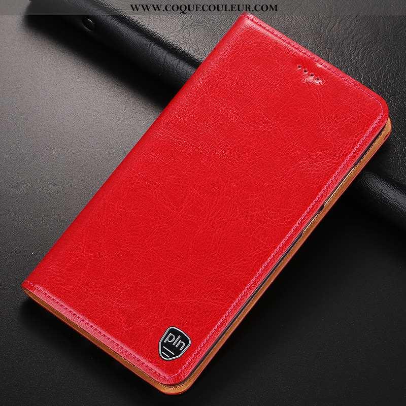 Étui Samsung Galaxy Note 10 Cuir Véritable Protection Téléphone Portable, Coque Samsung Galaxy Note