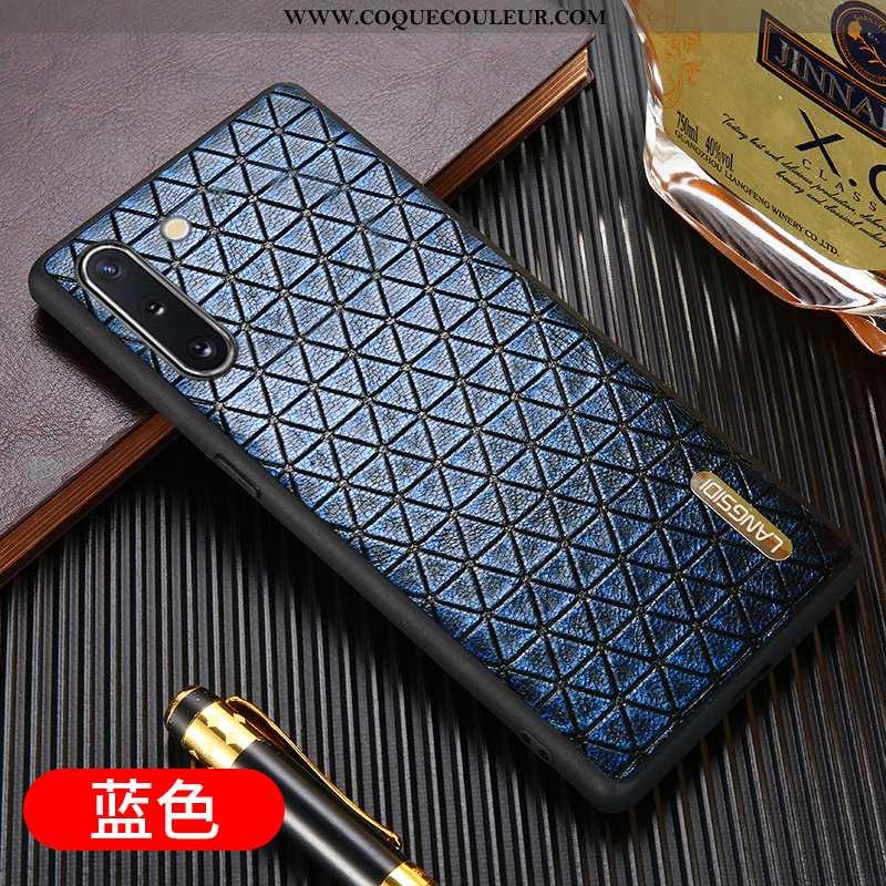 Coque Samsung Galaxy Note 10 Cuir Tout Compris Téléphone Portable, Housse Samsung Galaxy Note 10 Pro