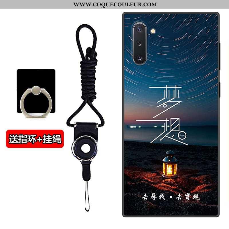 Étui Samsung Galaxy Note 10 Fluide Doux Téléphone Portable Incassable, Coque Samsung Galaxy Note 10