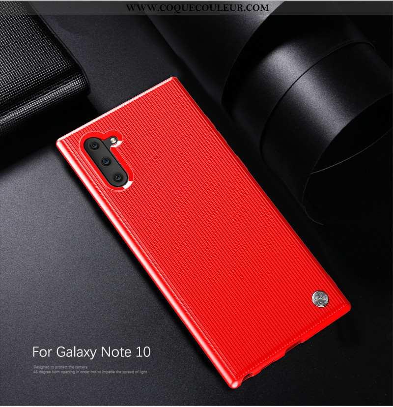 Coque Samsung Galaxy Note 10 Fluide Doux Tendance Refroidissement, Housse Samsung Galaxy Note 10 Sil