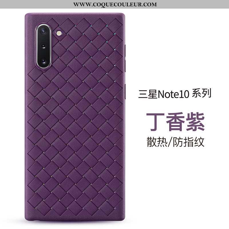 Coque Samsung Galaxy Note 10 Cuir Personnalité Tout Compris, Housse Samsung Galaxy Note 10 Modèle Fl