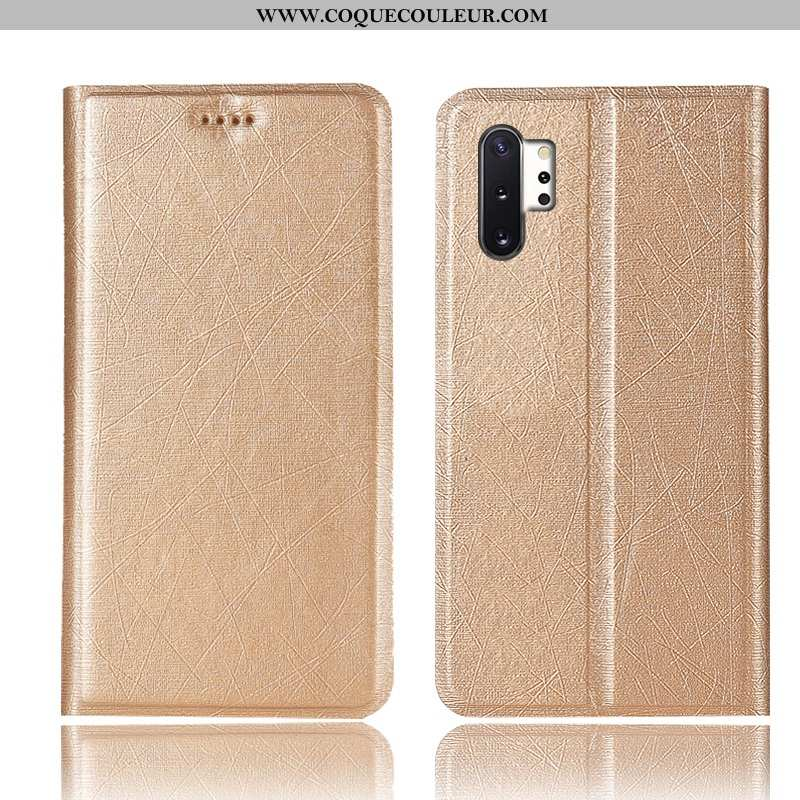 Coque Samsung Galaxy Note 10+ Protection Soie Étui, Housse Samsung Galaxy Note 10+ Cuir Tout Compris