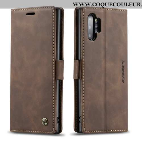 Housse Samsung Galaxy Note 10+ Cuir Carte Protection, Étui Samsung Galaxy Note 10+ Mode Personnalité