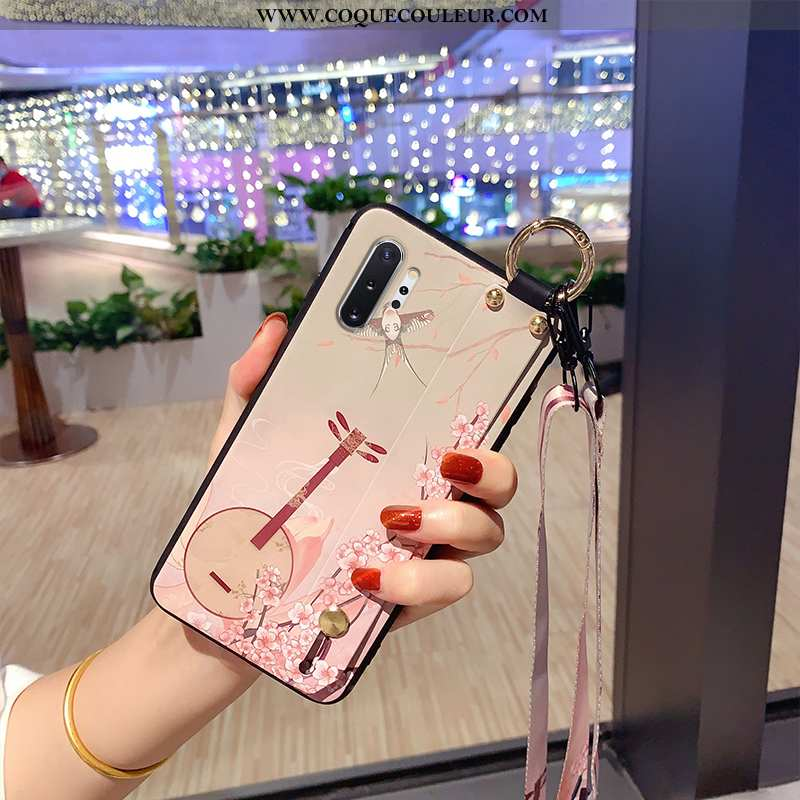 Étui Samsung Galaxy Note 10+ Protection Incassable Créatif, Coque Samsung Galaxy Note 10+ Délavé En