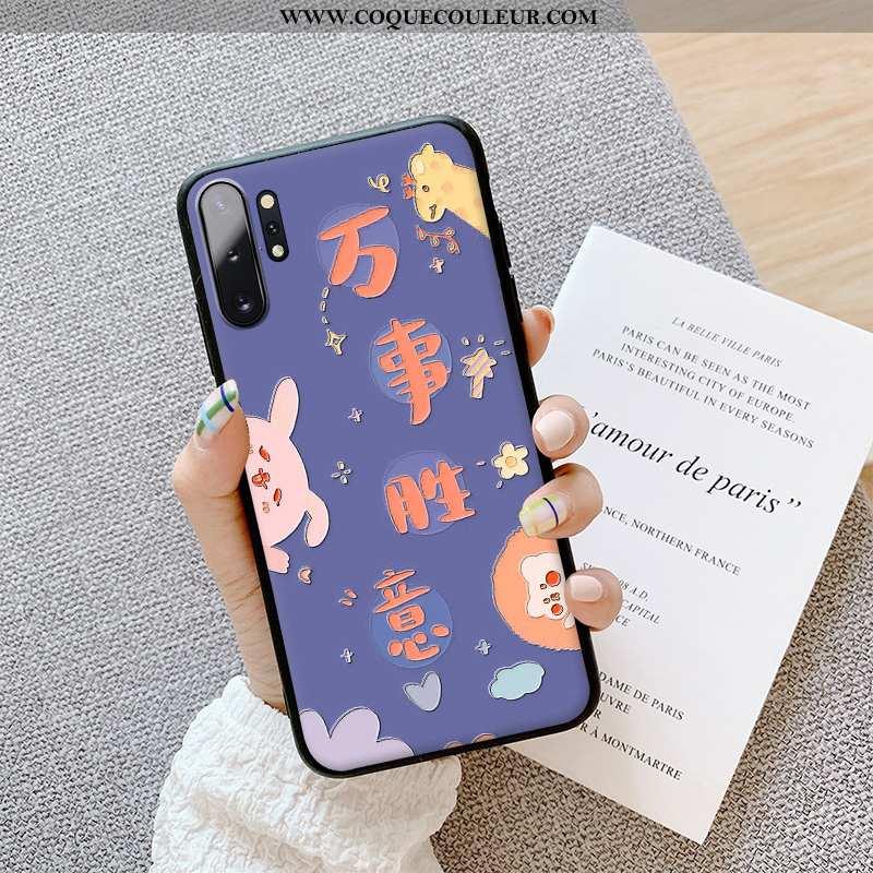 Étui Samsung Galaxy Note 10+ Charmant Téléphone Portable Fluide Doux, Coque Samsung Galaxy Note 10+