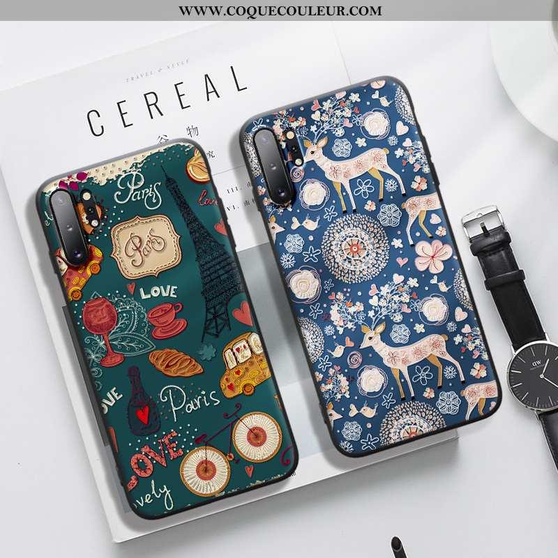 Housse Samsung Galaxy Note 10+ Gaufrage Tout Compris Étoile, Étui Samsung Galaxy Note 10+ Tendance N