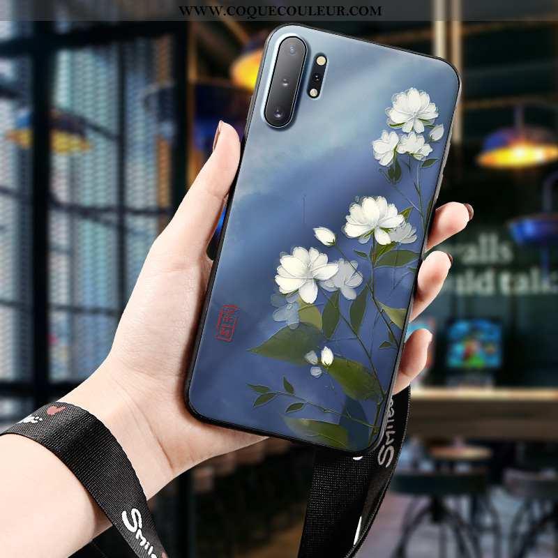 Étui Samsung Galaxy Note 10+ Personnalité Étoile Coque, Coque Samsung Galaxy Note 10+ Créatif Dimens