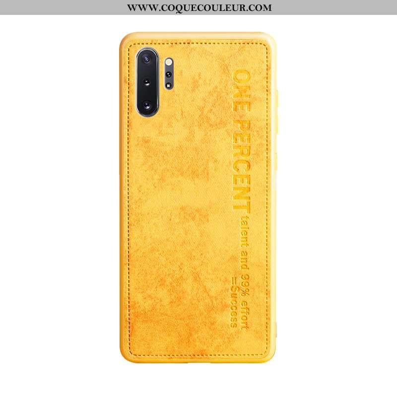 Housse Samsung Galaxy Note 10+ Légère Téléphone Portable Business, Étui Samsung Galaxy Note 10+ Cuir