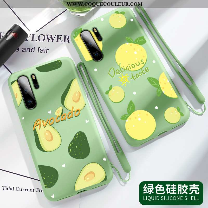 Coque Samsung Galaxy Note 10+ Silicone Incassable Vert, Housse Samsung Galaxy Note 10+ Protection Lé