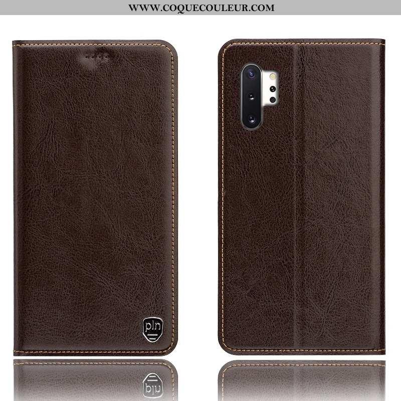 Étui Samsung Galaxy Note 10+ Modèle Fleurie Housse Téléphone Portable, Coque Samsung Galaxy Note 10+