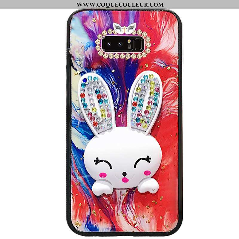 Coque Samsung Galaxy Note 8 Protection Mode Créatif, Housse Samsung Galaxy Note 8 Incruster Strass T