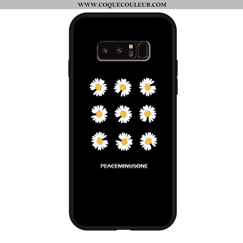 Housse Samsung Galaxy Note 8 Silicone Personnalité Étui, Étui Samsung Galaxy Note 8 Délavé En Daim N