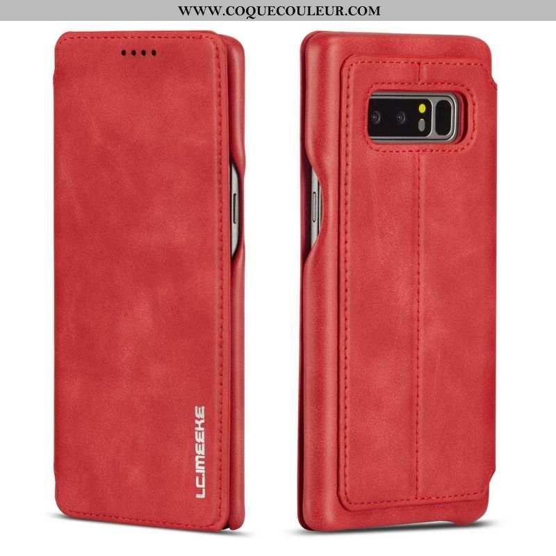 Étui Samsung Galaxy Note 8 Protection Membrane, Coque Samsung Galaxy Note 8 Ornements Suspendus Roug