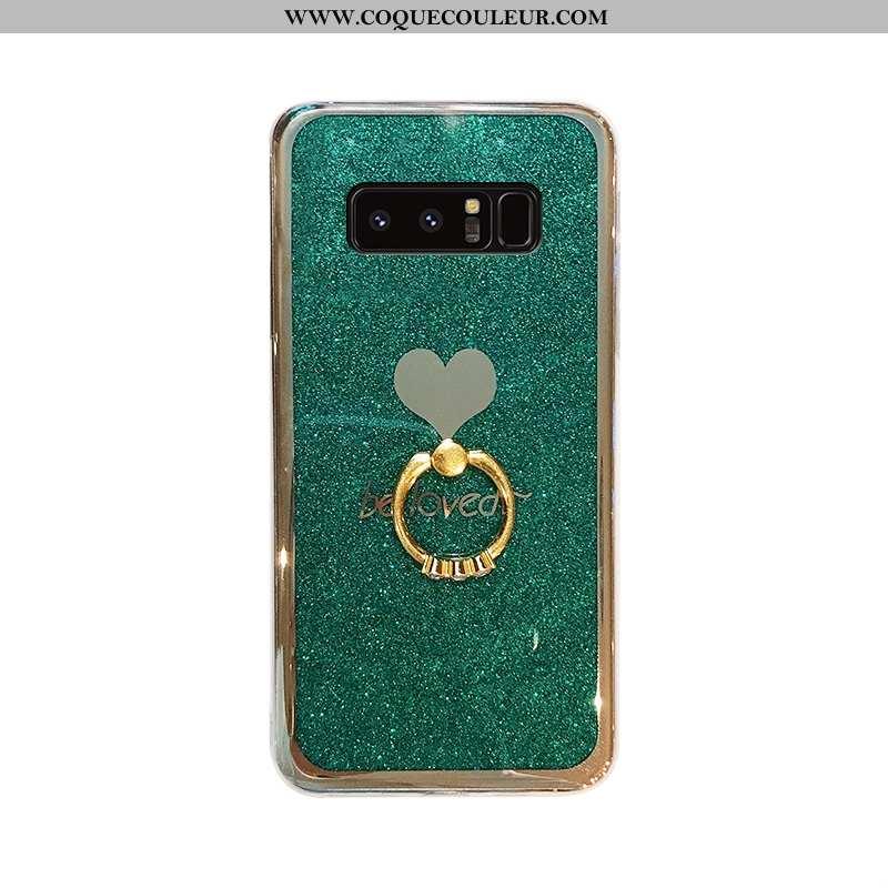 Housse Samsung Galaxy Note 8 Protection Nouveau Vert, Étui Samsung Galaxy Note 8 Créatif Tendance Ve