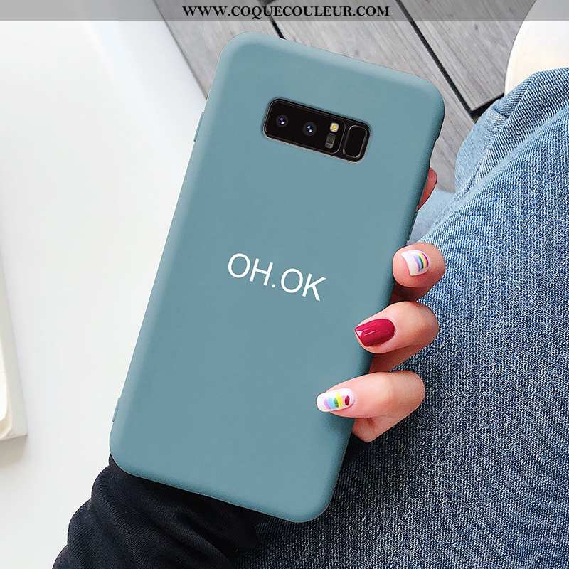 Coque Samsung Galaxy Note 8 Protection Amoureux Tendance, Housse Samsung Galaxy Note 8 Personnalité