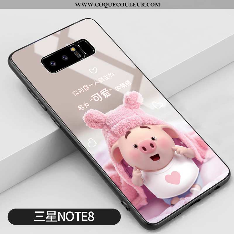 Housse Samsung Galaxy Note 8 Tendance Personnalité Difficile, Étui Samsung Galaxy Note 8 Silicone Té