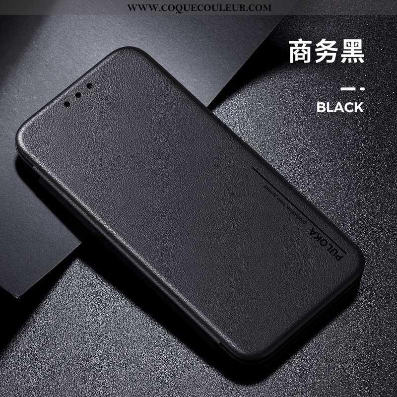 Housse Samsung Galaxy Note 8 Cuir Tout Compris Luxe, Étui Samsung Galaxy Note 8 Classic Noir