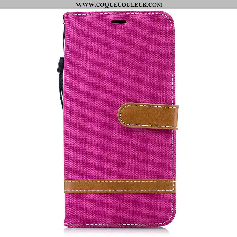 Étui Samsung Galaxy Note 9 Portefeuille En Denim Téléphone Portable, Coque Samsung Galaxy Note 9 Cui