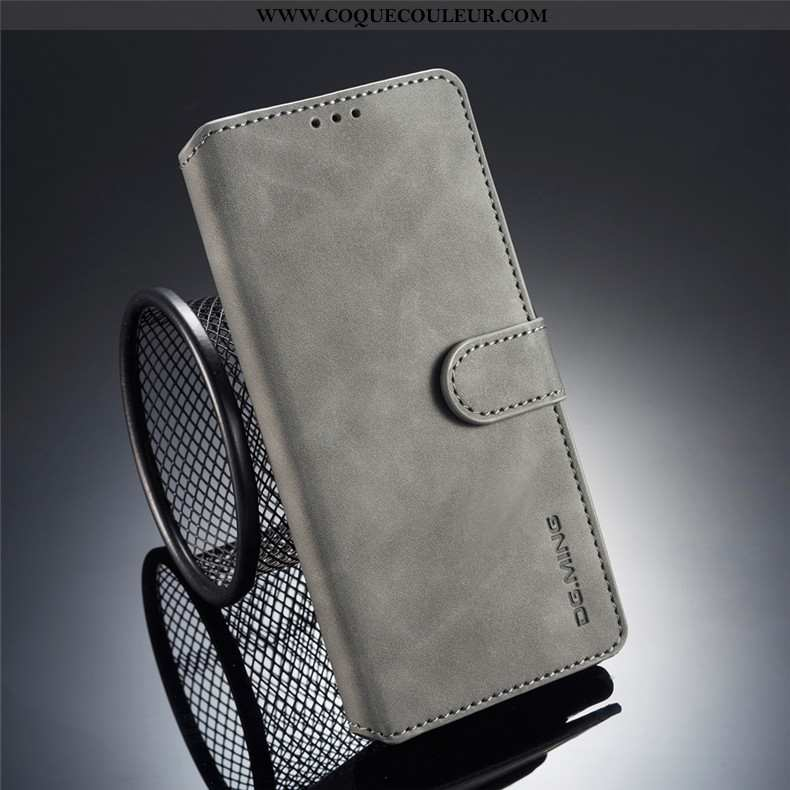 Étui Samsung Galaxy Note 9 Cuir Carte Téléphone Portable, Coque Samsung Galaxy Note 9 Fluide Doux Ét
