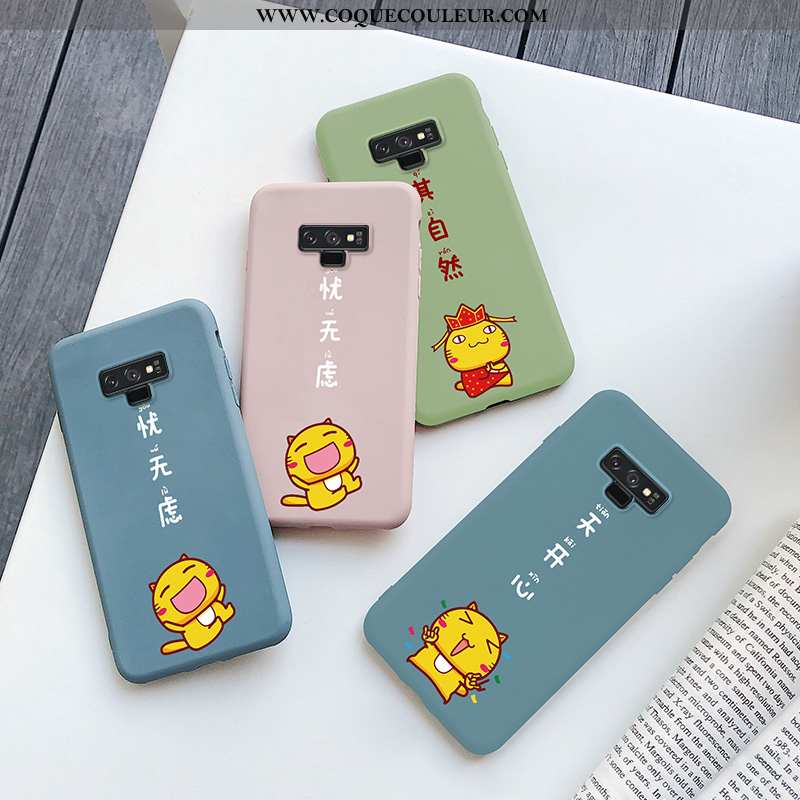 Coque Samsung Galaxy Note 9 Ultra Étoile Dessin Animé, Housse Samsung Galaxy Note 9 Tendance Étui Bl