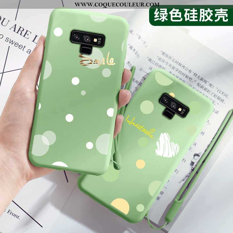 Étui Samsung Galaxy Note 9 Tendance Protection Légères, Coque Samsung Galaxy Note 9 Légère Petit Ver
