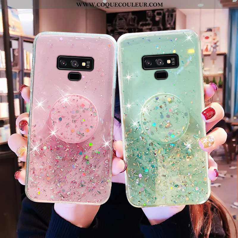Étui Samsung Galaxy Note 9 Transparent Protection Mode, Coque Samsung Galaxy Note 9 Personnalité Lég