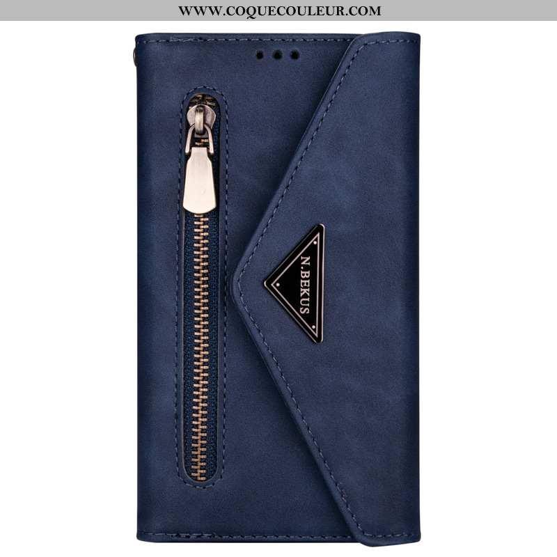 Housse Samsung Galaxy Note20 Cuir Coque Étoile, Étui Samsung Galaxy Note20 Bleu Marin Téléphone Port