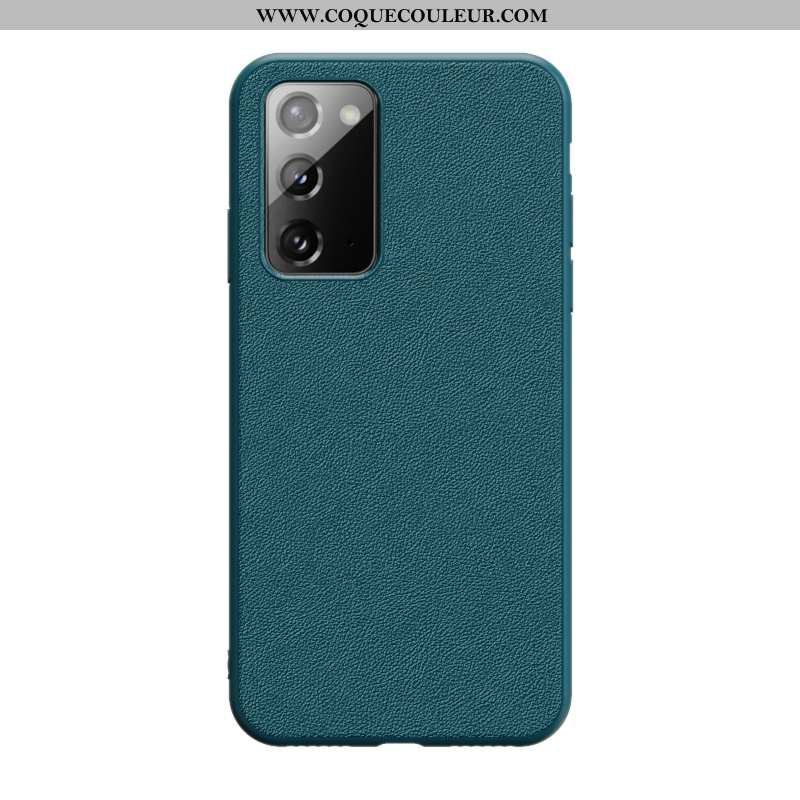 Coque Samsung Galaxy Note20 Protection Luxe Business, Housse Samsung Galaxy Note20 Personnalité Inca