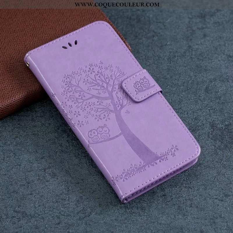 Housse Samsung Galaxy Note20 Cuir Étui Housse, Samsung Galaxy Note20 Fluide Doux Coque Violet