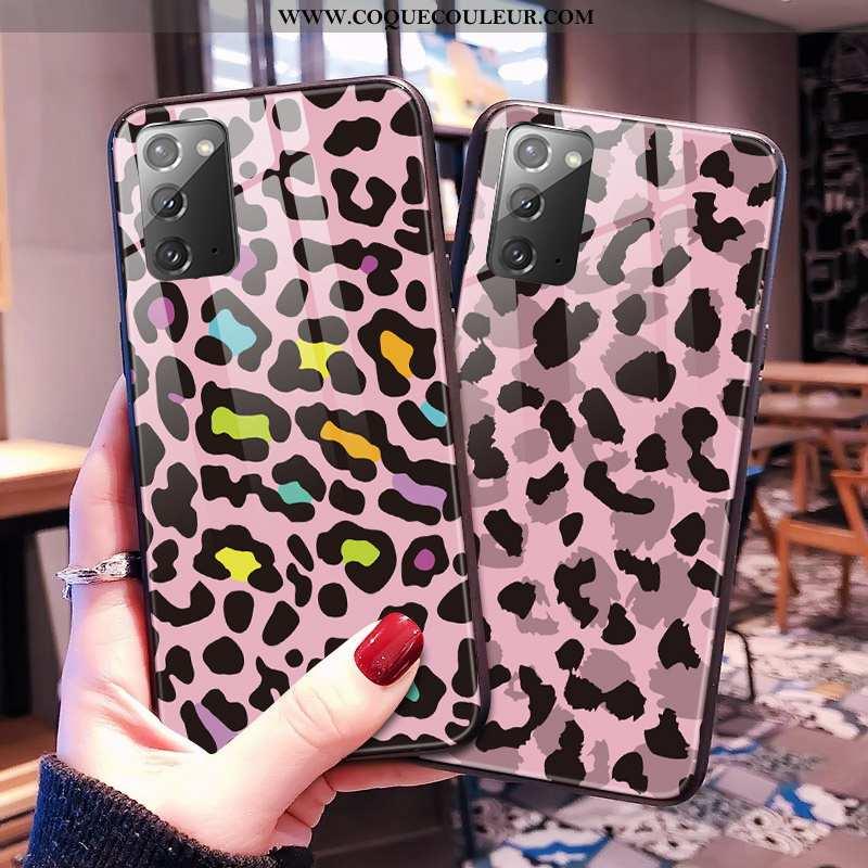 Housse Samsung Galaxy Note20 Protection Modèle Fleurie Tout Compris, Étui Samsung Galaxy Note20 Verr